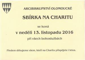 Sbírka na charitu