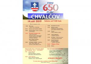 Oslavy obce Chvalčov