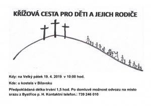 Pěší křížová cesta pro děti